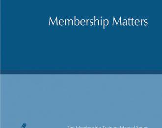 Membership Matters / Asuntos de Membresía