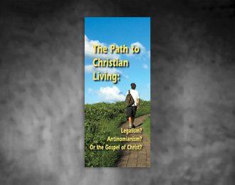 El Camino Hacia Una Forma De Vida Cristiana