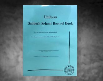 Uniform Sabbath School Record Book