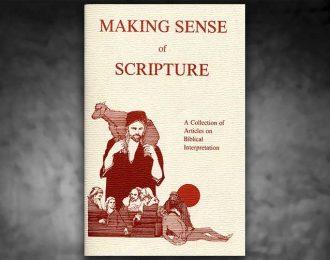 Making Sense of Scripture
