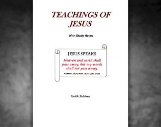 Teaching of Jesus With Study Helps